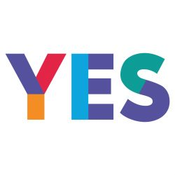 YES2 (colour logo)